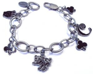 Twilight New Moon Cullen Circle charm bracelet prop replica